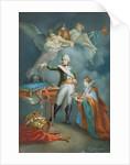 Major General Aleksandr Vassil'evich Suvorov in Uniform, Surmounted by Allegorical Figures of Victory, 1772 by Francesco Gallimberti