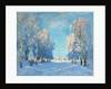 A Winter's Day, 1934 by Konstantin Ivanovich Gorbatov