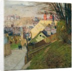 The House of Therese Krones in Dobling in Vienna, c.1912-1914 by Carl Moll