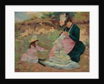 Madame Guillaumin and Her Daughters; Madame Guillaumin et Ses Filles, c.1892 by Jean Baptiste Armand Guillaumin