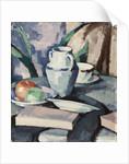 Still life with Vase and Books by Samuel John Peploe