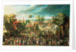 The Feast of St George by Pieter Balten