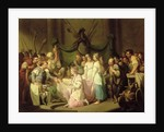 The Meeting of Vortigern and Rowena by John Hamilton Mortimer