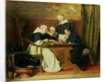 The Chess Players by Ture Nikolaus Cederstrom