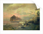Ischia, 1884 by Oswald Achenbach