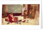The Favourites of the Emperor Honorius by John William Waterhouse