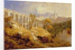 The Aqueduct at Arricia, Near Rome, 1866 by James Baker Pyne