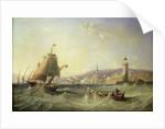 Genoa, 1862 by John Wilson Carmichael