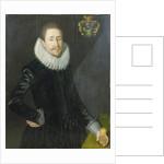 Portrait of Bocke Jochems Hoppers, 1622 by Jan De Salle