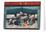 Nursing Mothers with Babies and Female Attendant, c.1870 by Chinese School