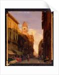 A View of Prince Maffei's Palace, Verona by Richard Parkes Bonington