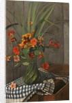 Nasturtiums; Capucines, 1920 by Felix Edouard Vallotton