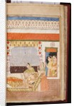 A Hindu love story of Manshar and Madh, c.1730 by Deccani School