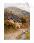 At Symondsbury near Bridport, Dorset by Helen Allingham