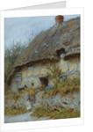 A Berkshire Cottage by Helen Allingham