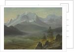 Mont Blanc by Albert Bierstadt