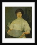 Girl with Pan by Charles Webster Hawthorne