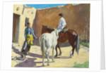 Making Ready, 1917 by Walter Ufer