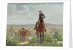 Texas of Old, c.1930 by William Herbert 'Buck' Dunton