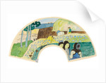 Breton Scene by Paul Gauguin