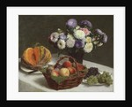 Flowers and Fruits, 1865 by Ignace Henri Jean Fantin-Latour