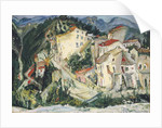 Landscape at Cagnes by Chaim Soutine