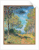 Pine Tree Path at Varengeville by Claude Monet