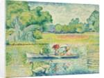 Boating in the Bois de Boulogne by Henri-Edmond Cross