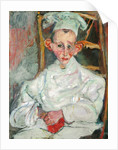 The Little Pastry Cook from Cagnes by Chaim Soutine