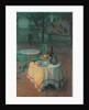 Port Cafe by Henri Eugene Augustin Le Sidaner