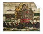 Single Houses by Egon Schiele