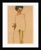 Self Portrait by Egon Schiele