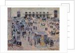 La Place du Havre et la Gare Saint-Lazare, 1893 by Camille Pissarro