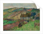 Cottages on the Flanks of Mont Sainte-Marguerite by Paul Gauguin