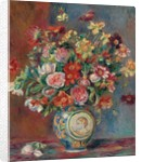 Vase with Flowers by Pierre Auguste Renoir