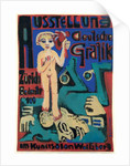 Exhibition of German Graphics at the Kunstsalon Wolfsberg by Ernst Ludwig Kirchner