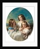 Three Young Girls from the Chateaubourg Family, 1850 by Hermann Winterhalter