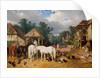 The Farmyard, 1860 by John Frederick Herring Snr
