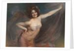 Portrait of Loie Fuller by Felix Hippolyte-Lucas