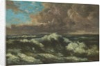 Seascape by Gustave Courbet