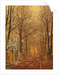 In the Golden Olden Time by John Atkinson Grimshaw
