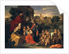 The Holy Family with the Infant St. John the Baptist and St. Elizabeth by Nicolas Poussin