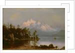 Mountain Canoeing by Albert Bierstadt