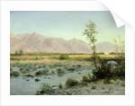 Prairie Landscape by Albert Bierstadt