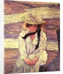 Young Woman on the Banks of the Greve River, 1901 by Theo van Rysselberghe