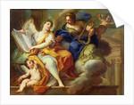 Urania and Erato by Sebastiano Conca