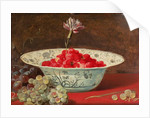 Strawberries with a Carnation by Frans Snyders or Snijders