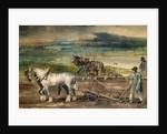 Farm labourers by Theodore Gericault