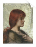 An Auburn Beauty by Alexei Alexevich Harlamoff