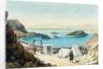 Aden Harbour by William Prinsep